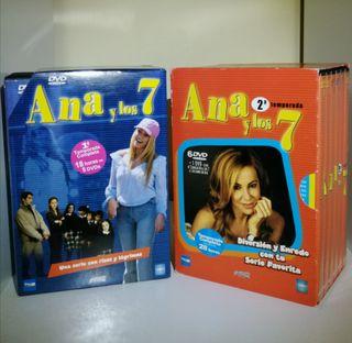 Dvd's serie Ana y los siete