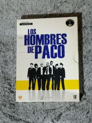 Dvd's Los Hombres de Paco
