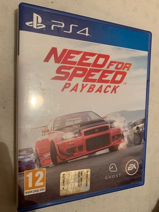 Need For Speed Pay Back (ps4)