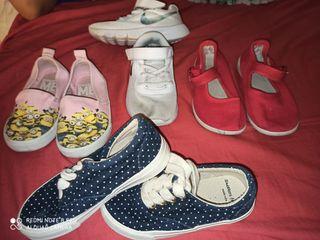 zapatillas, sandalias niña