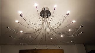 Gran lampara araña