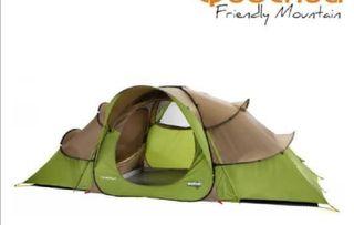 tienda de campaña nueva 1 uso camping