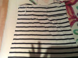camiseta sin tirantes talla L
