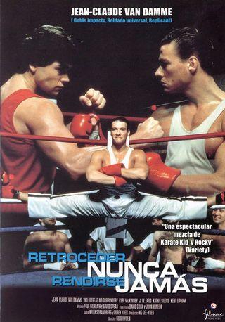 DVD RETROCEDER NUNCA RENDIRSE JAMÁS