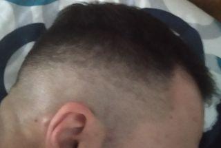 peluquero para hombres