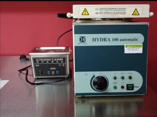autoclave y ultrasonidos