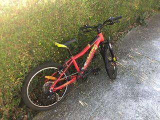 Bicicleta infantil cannondale 20 pulgadas
