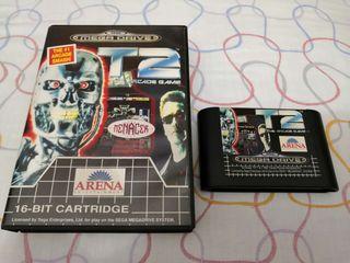 t2 the arcade game para megadrive