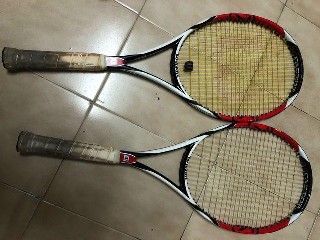 Bolsa tenis y raquetas