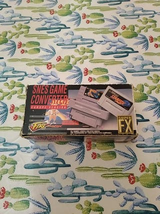 CAJA ORIGINAL ADAPTADOR FIRE SNES SUPER NINTENDO