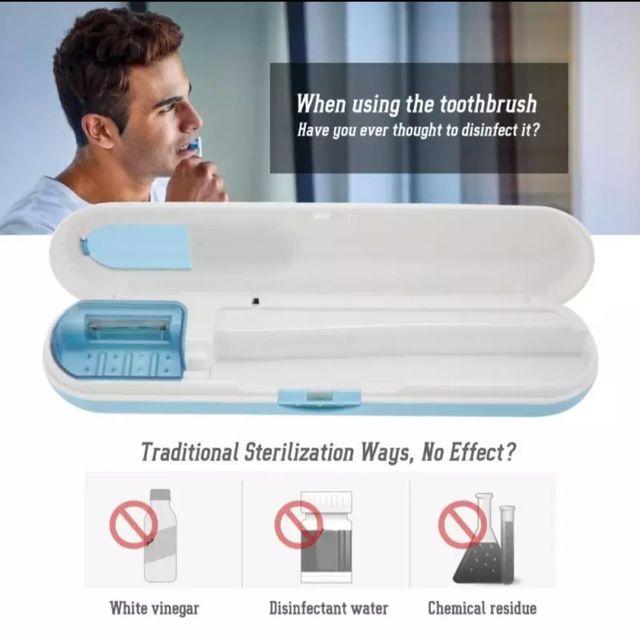 Esterilización cepillo dientes