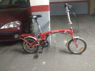 bici plegable aluminio 16 pulgadas