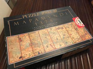 Puzzle mapa mundi antiguo 4000 piezas