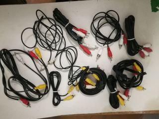 Lote de cables informática