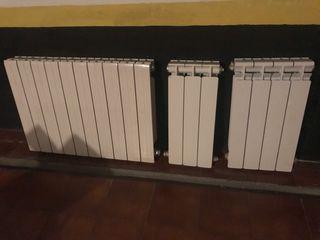 Radiadores aluminio lacado blanco