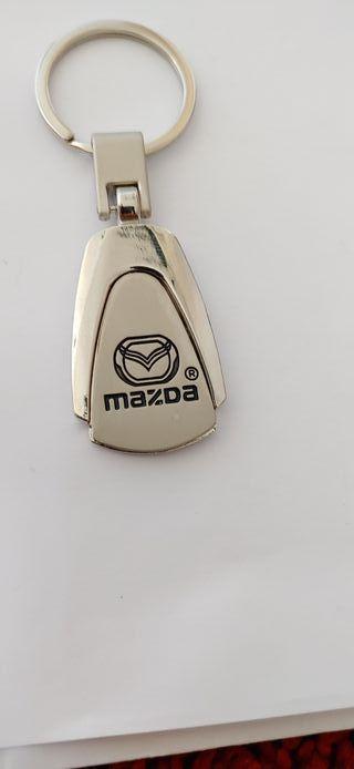 Llavero Mazda aleación de zinc inoxidable