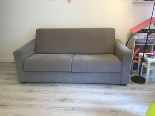 Sofa Cama 3 plazas con arcón de almacenaje