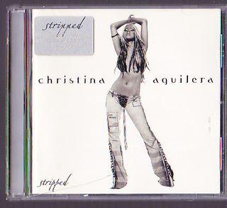CHRISTINA AGUILERA STRIPPED CD