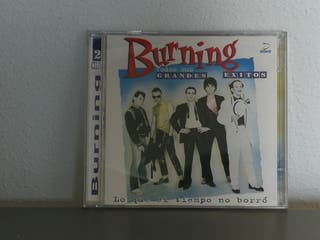 Burning CD doble