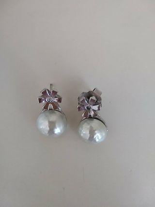 pendientes perla de calidad