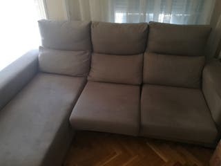 Chaises longue color gris