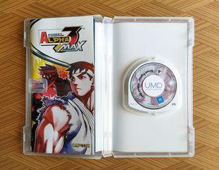 Street Fighter Alpha 3 Max PSP PAL Completo