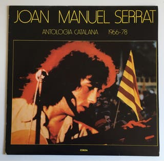 Joan Manuel Serrat : Antologia Disco Vinilo Lp