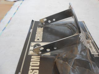 Harley Davidson Shovelhead soporte matricula