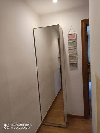 mueble recibidor espejo zapatero