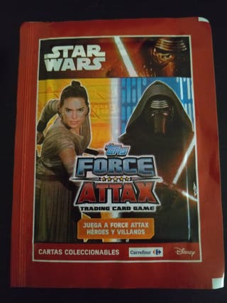 Cromos Star Wars Force Attax