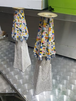 OPORTUNIDAD! candelabros Gaudí artbona