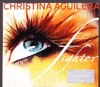 CHRISTINA AGUILERA FIGHTER CD