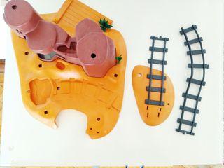 Piezas escenario Playmobil.