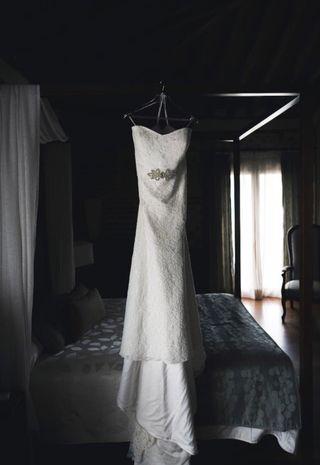 Vestido de novia T. 48