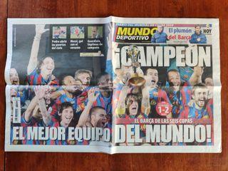 Mundo Deportivo y Sport - Mundial de clubes 2009