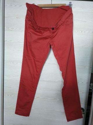 Pantalones premamá finos T40