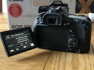 Cámara Canon EOS 80d + Tamron 18-270 mm F / 3.5-6.