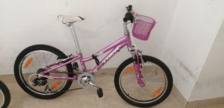 Bici Trek niña