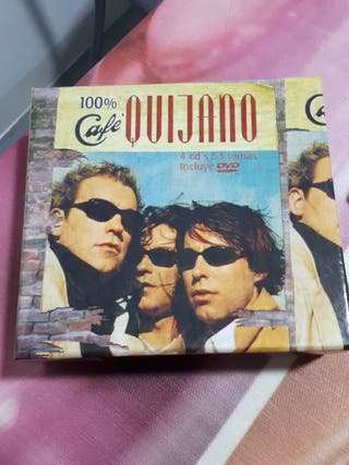 Caja coleccionista Café Quijano