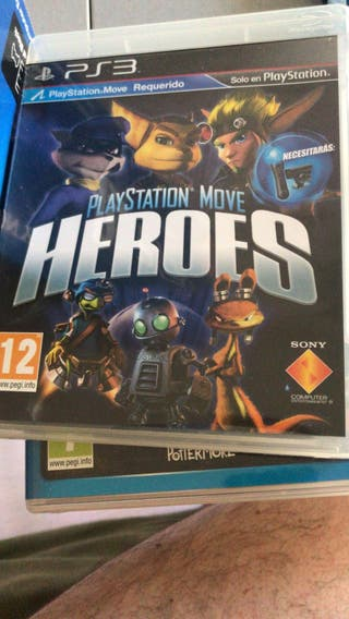 Juego move ps3 Heroes