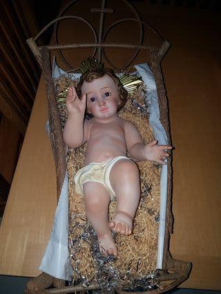 Niño Jesús de escayola