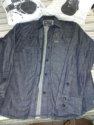 camisa+chaqueta 2 en 1. G_STAR ORIGINAL