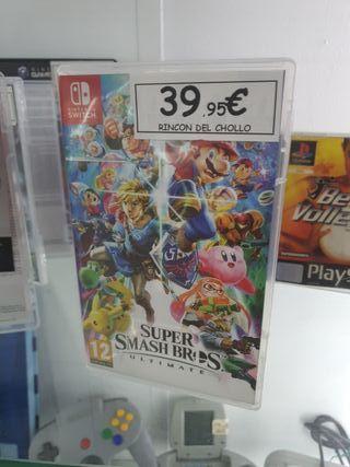 Súper Mario smash bros Nintendo Switch
