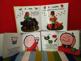 Libros niños/as 2 a 6 años.