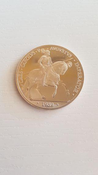 Moneda de plata. Estuche + Certificado.