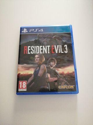 Resident Evil 3 Remake, ps4