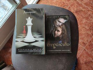 Libros Crepúsculo y Amanecer