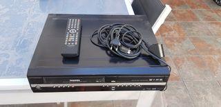 Reproductor de DVD y VHS
