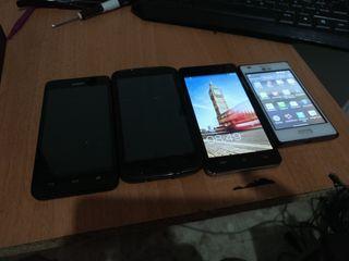 Huawei, Cubot , LG
