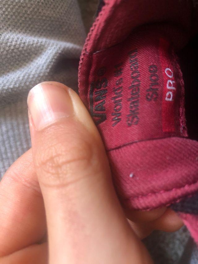 Zapatillas vans BERLE PRO rojas